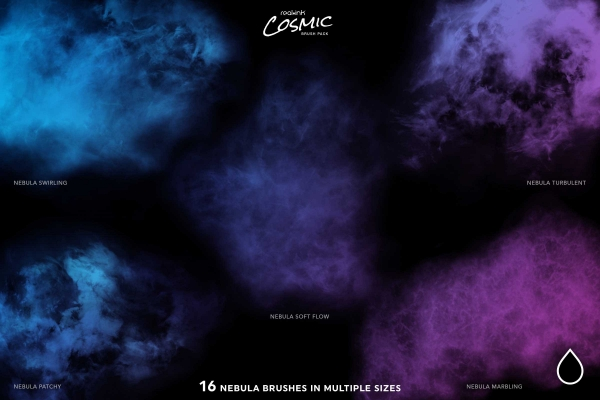 Nebula Brushes