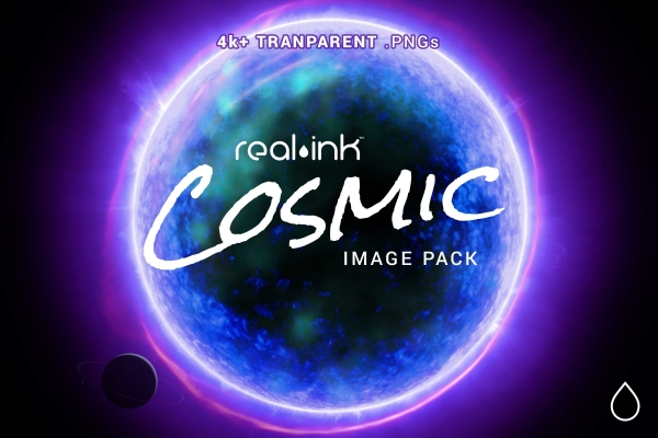 Real Ink Cosmic Image Pack