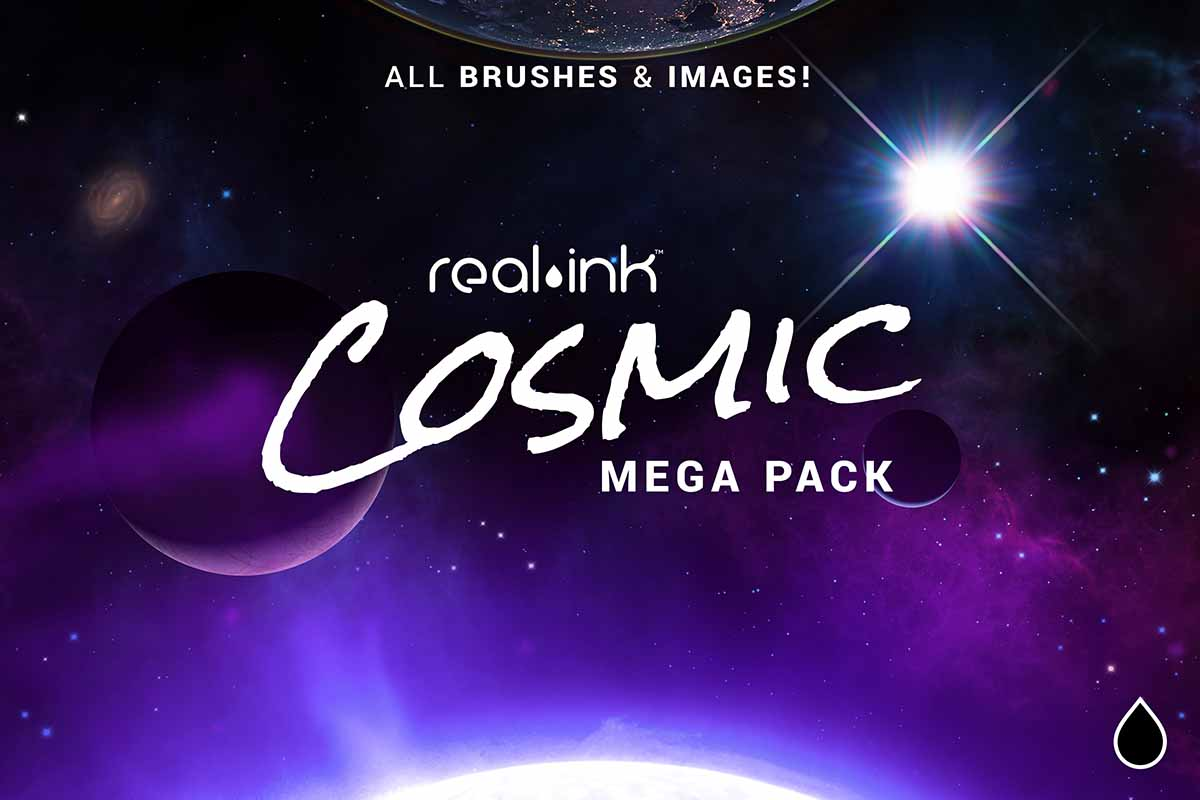 Real Ink Cosmic MEGA Pack