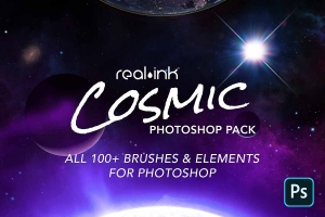 Cosmic Photoshop Pack