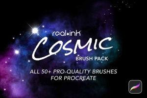 Cosmic Procreate Brush Pack