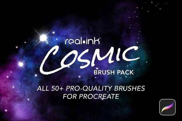 Cosmic Procreate Brush Pack