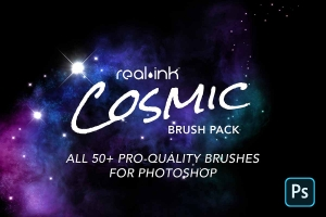 Cosmic Photoshop Brush Pack
