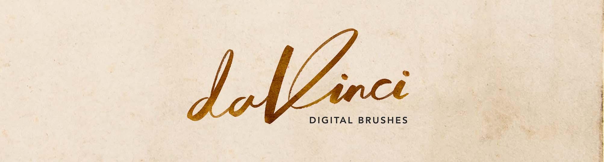 Real-ink DaVinci logo